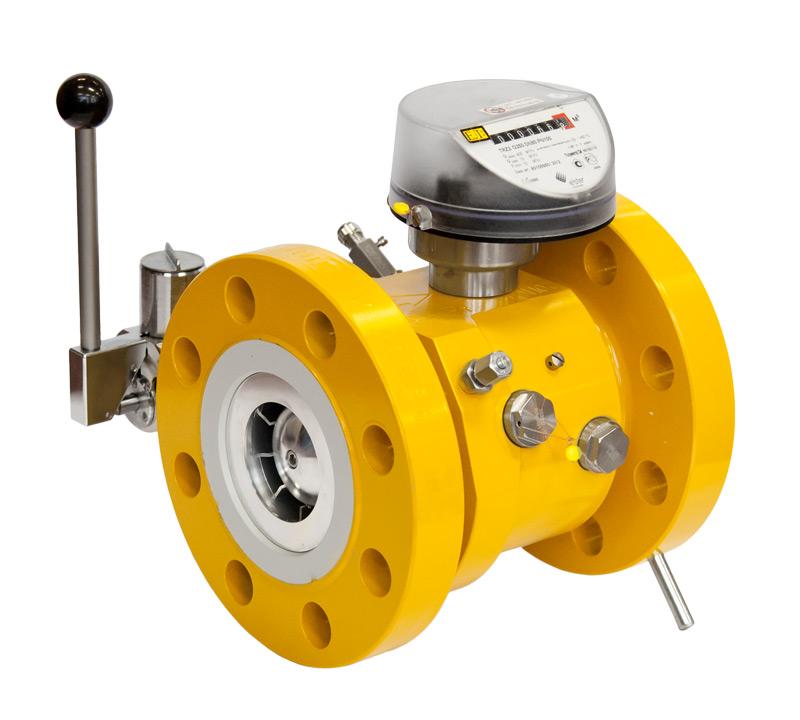 Турбинный счетчик газа TRZ G1000/1,6 Ду=150 мм