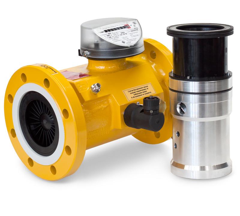 Турбинный счетчик газа TRZ G4000/6,3 Рmax=63кгс/см2; Ду=300 мм