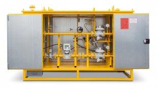 Пункты учета и редуцирования газа