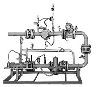 Газопровод, ГРУ и узлы учета